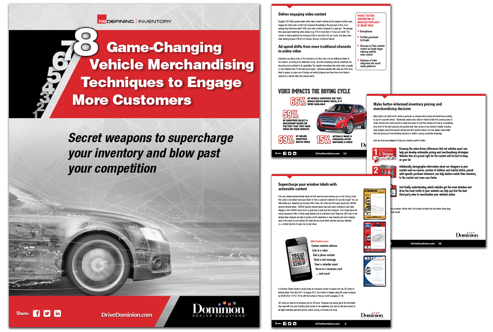 8 Game-Changing Vehicle Merchandising Techniques to Engage More Customers