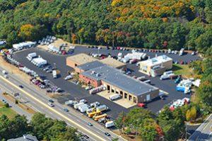 Minuteman Trucks Aerial View