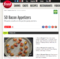 Bacon-Wrapped Digital Advertising