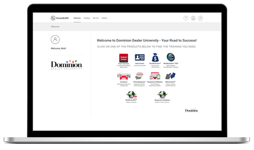 Find Autobase Training & Support on Dominion Dealer University