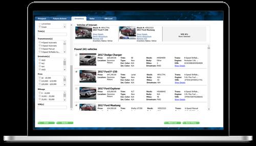 Web Control Attach Vehicles