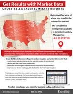Cross-Sell Dealer Summary info sheet