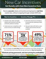 New Car Incentives info sheet