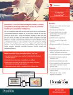 Cross-Sell Interactive info sheet