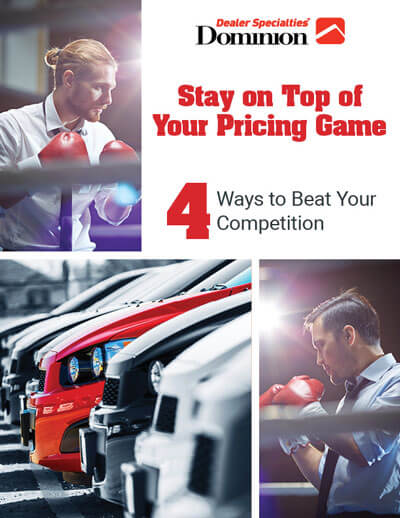 Stay On Top Of Your Pricing Game eBook