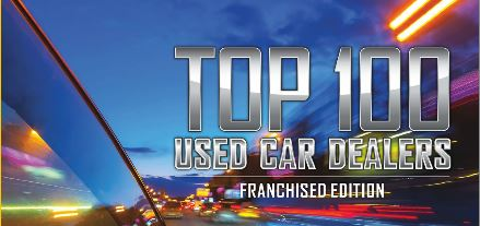 Auto Remarketing TOP 100 FRANCHISE USED CAR DEALERS USING DOMINION DEALER SOLUTIONS INVENTORY REPORTING